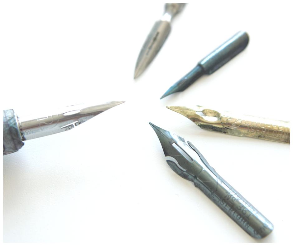 Stalówki dla początkujących – kaligrafia nowoczesna