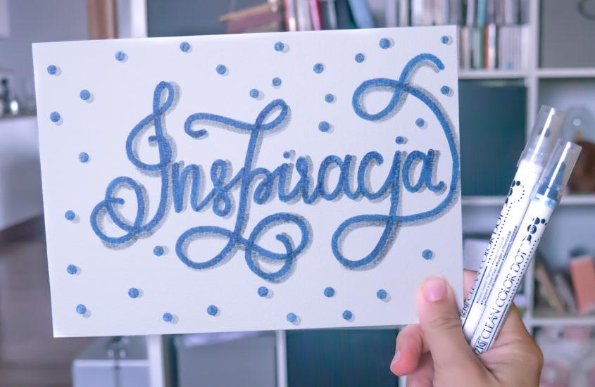10 pomysłów na wykorzystanie brush letteringu
